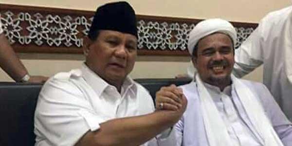 Gerindra Sebut Rizieq Bisa Dampingi Prabowo