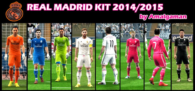 PES 2013 Real Madrid 2014/2015 Full GDB by Amalgaman