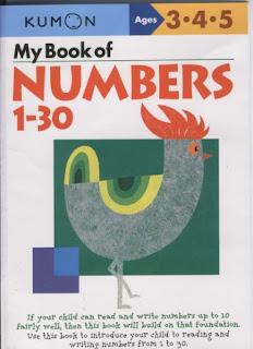 Mi libro de los Números del 1-30