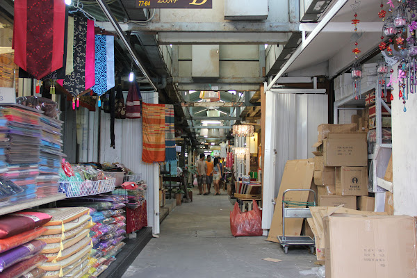 Pasillos del Mercado de Chatuchak
