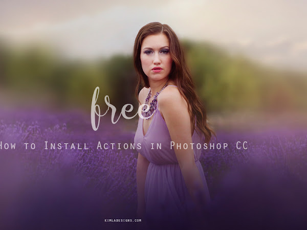 How to Install Actions in Photoshop CC