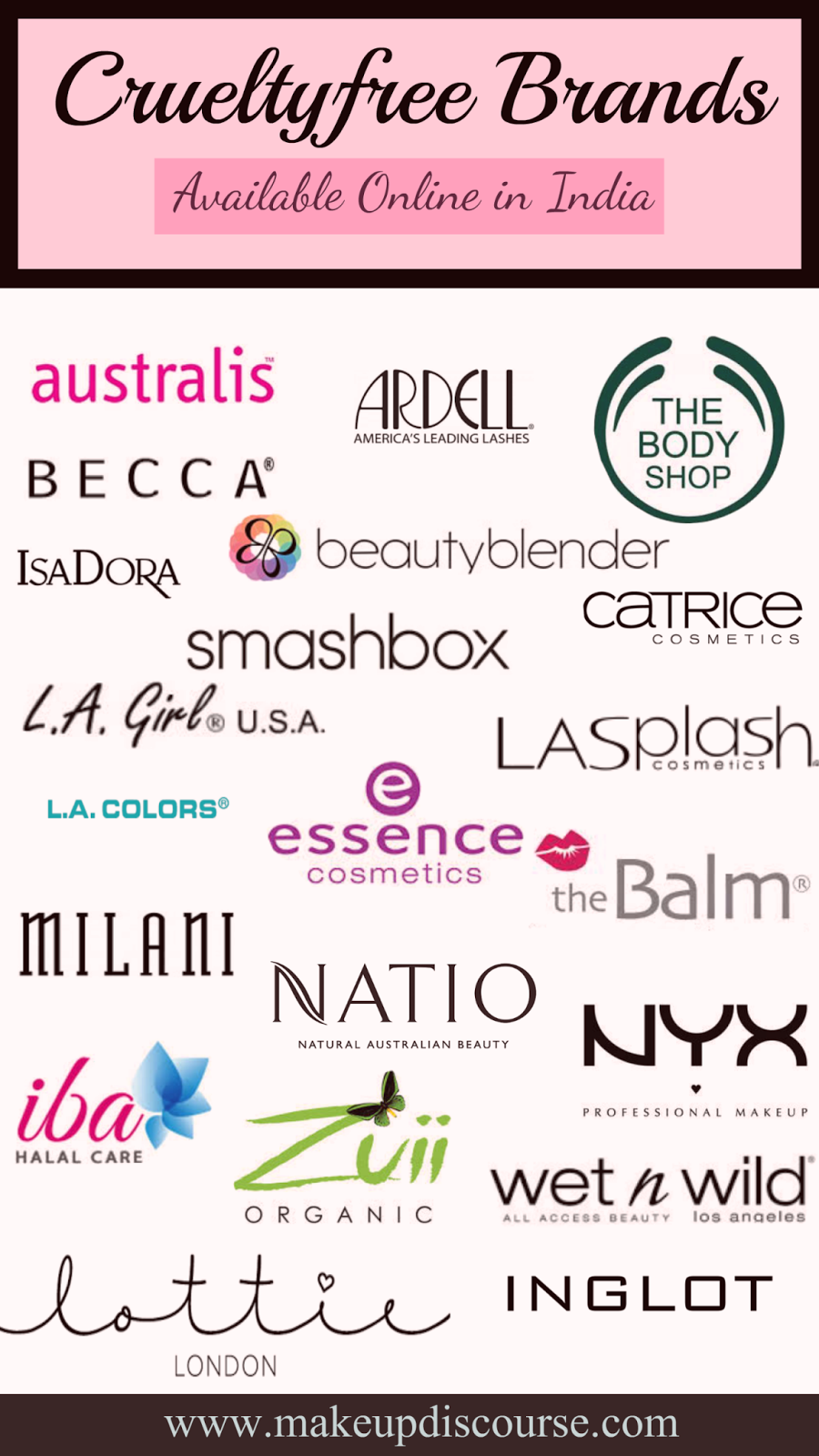 Crueltyfree brands available in India online