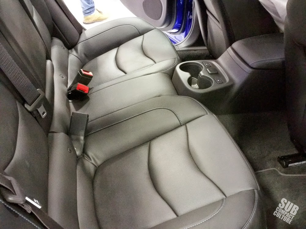2016 Chevrolet Volt Back Seat