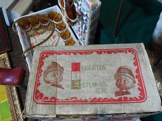 Juguete de juguetes y estuches s.a. en su caja, desembalaje de León, el baul de hojalata