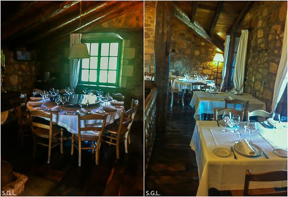 Comedor interior del Kate Zaharra. Bilbao