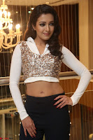 Catherine Tresa in a White Glittering Crop Top Black Leggings  Exclusive 013.JPG