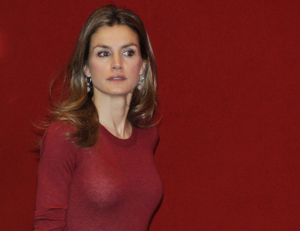 Crown Princess Letizia of Spain attended the opening of 'Volunteering National Congress' in Bilbao