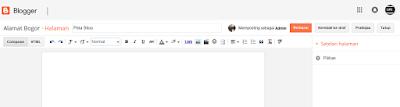 Cara Membuat Halaman Peta Situs Atau Daftar Isi Blog