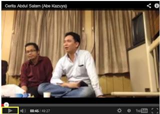 Abe Kazuya, Pria Jepang Yang Menemukan Islam