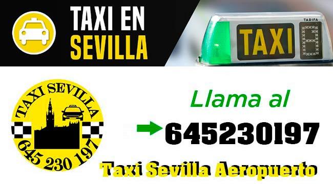 llamar taxi sevilla
