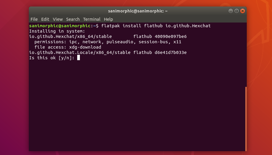 Hexchat 2 14 2 Release, Install on Ubuntu / Linux Mint (Platpak