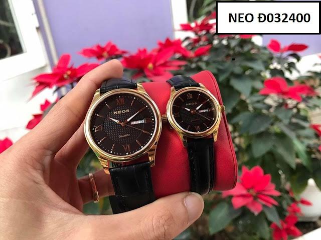 Đồng hồ dây da Noes Đ032400