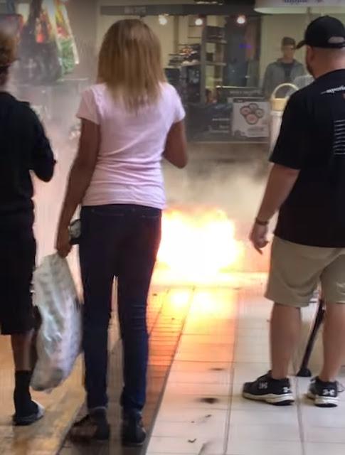 hoverboard explodir explosão acidente cuidado fogo azar