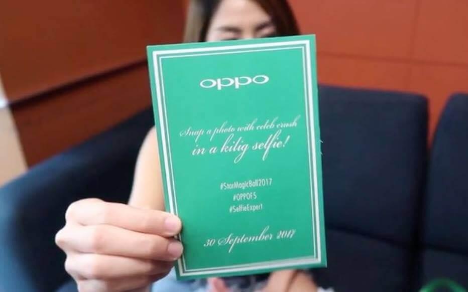 OPPO F5 Hashtag