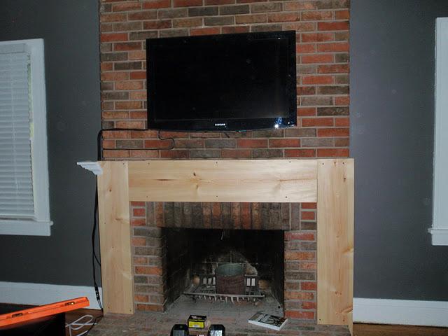 Woodwork Diy Wood Mantel Pdf Plans