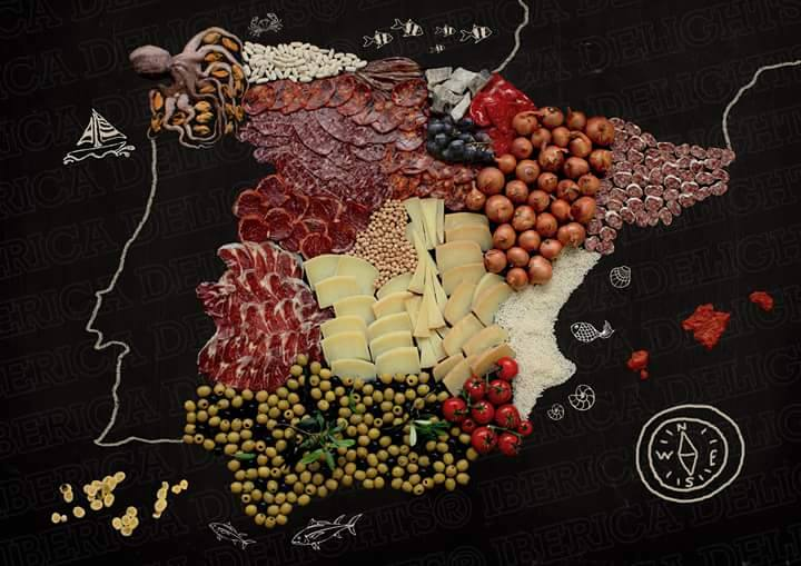 Regional products in autonomous communities of Spain