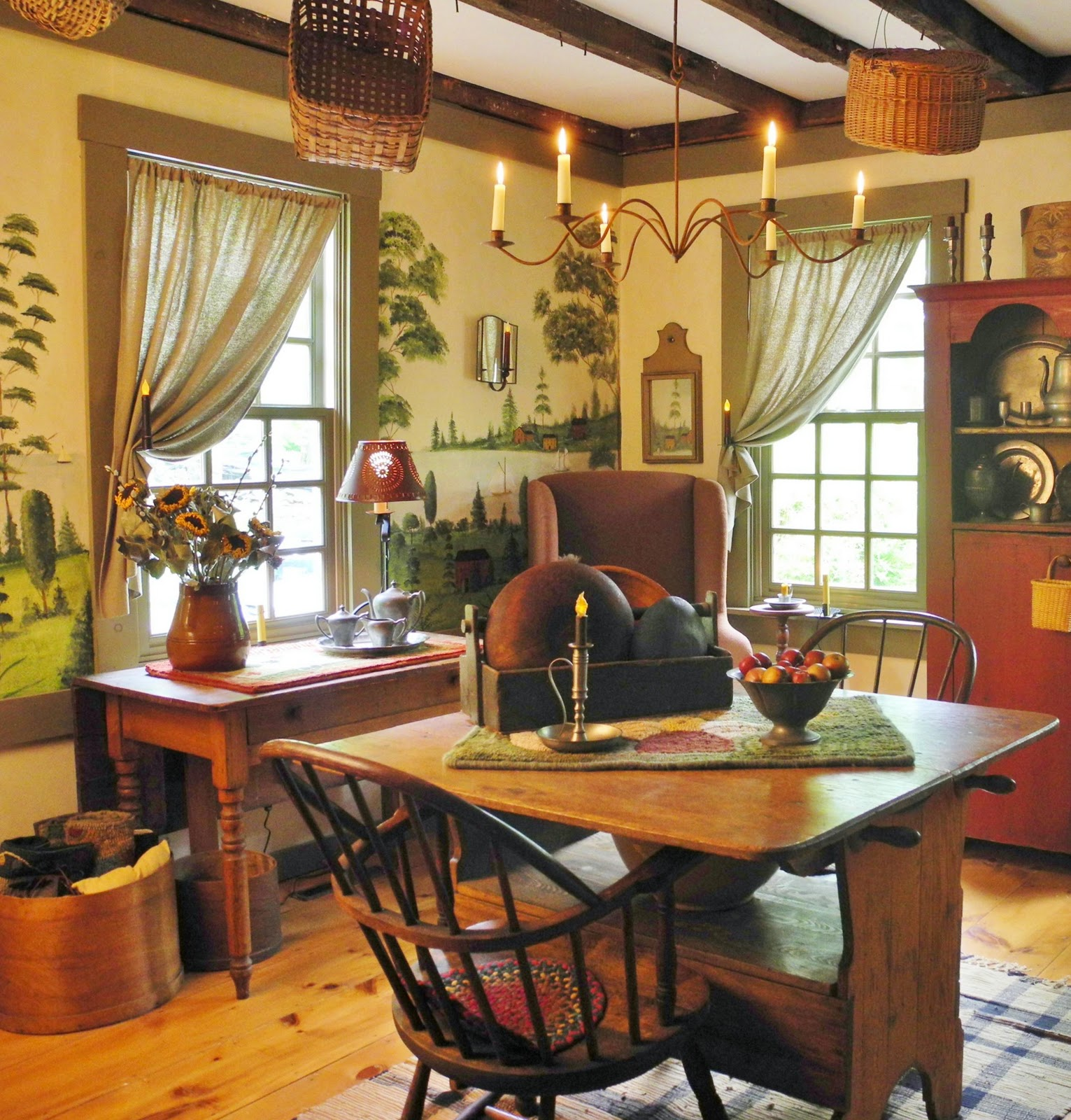 Country Home Decor Magazines: A Primitive Place & Country Journal Magazine: Spring 2012