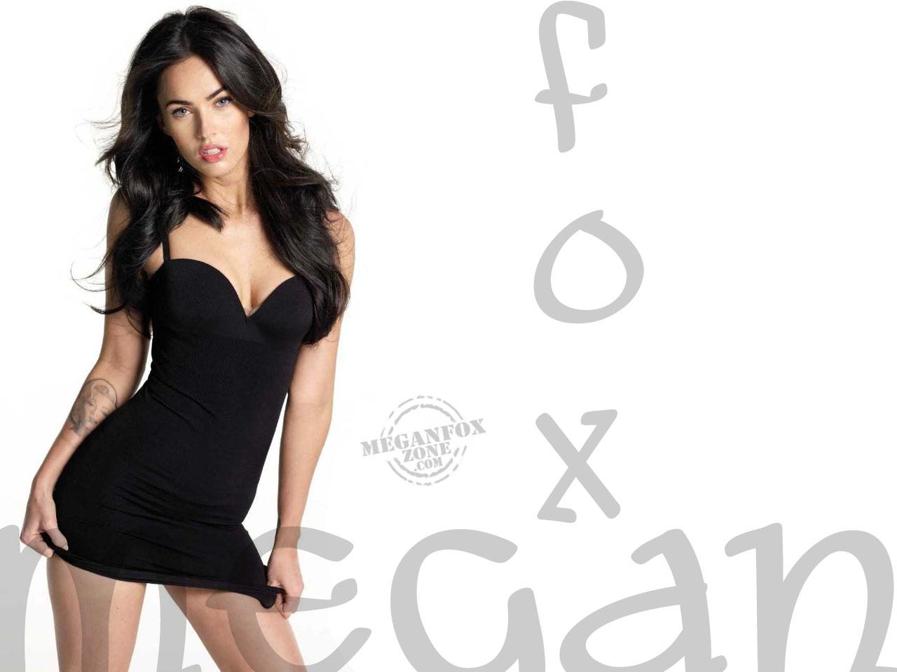 New Hollywood Style: Megan Fox Wallpaper