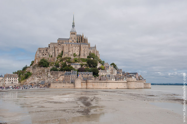 Mont Saint-MIchel viaje Normandia Francia  turismo