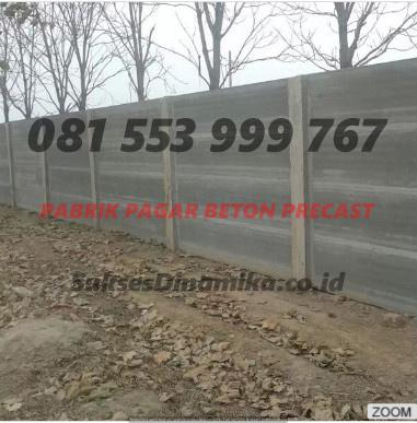 Harga Pagar Beton Bongkar Pasang Malang, Dinding Panel Beton