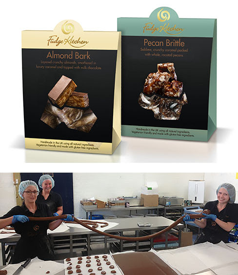 The Artisan Food Trail: Delectable Pecan Brittle and Almond Bark from Fudge Kitchen