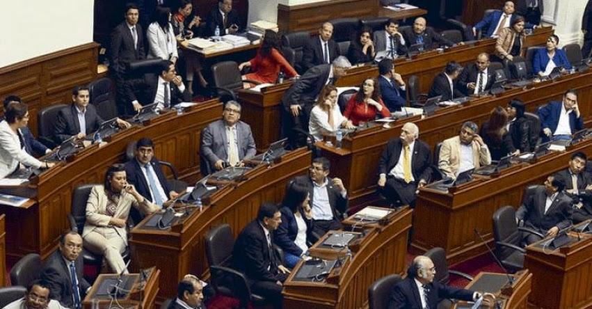 Fujimorismo y Apra rechazan eliminar inmunidad parlamentaria