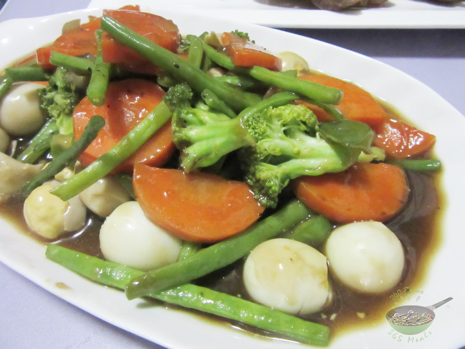how to cook vegetables with oyster sauce