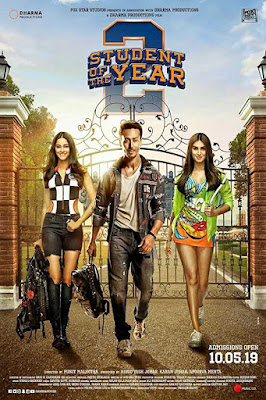 Poster Student of the Year 2 2019 Hindi HD 720p