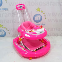 Baby Walker Strawberry Shortcake Lisensi NBW1031SWP