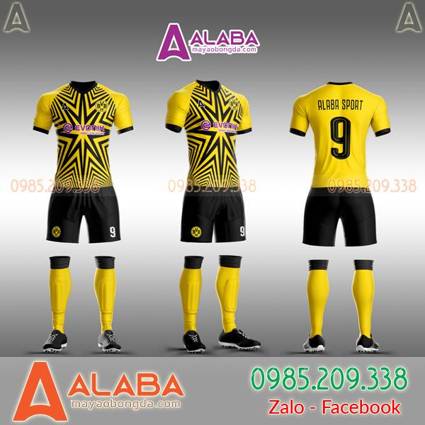 Áo CLB Dortmund 2019 tự thiết kế mã ALB DO03