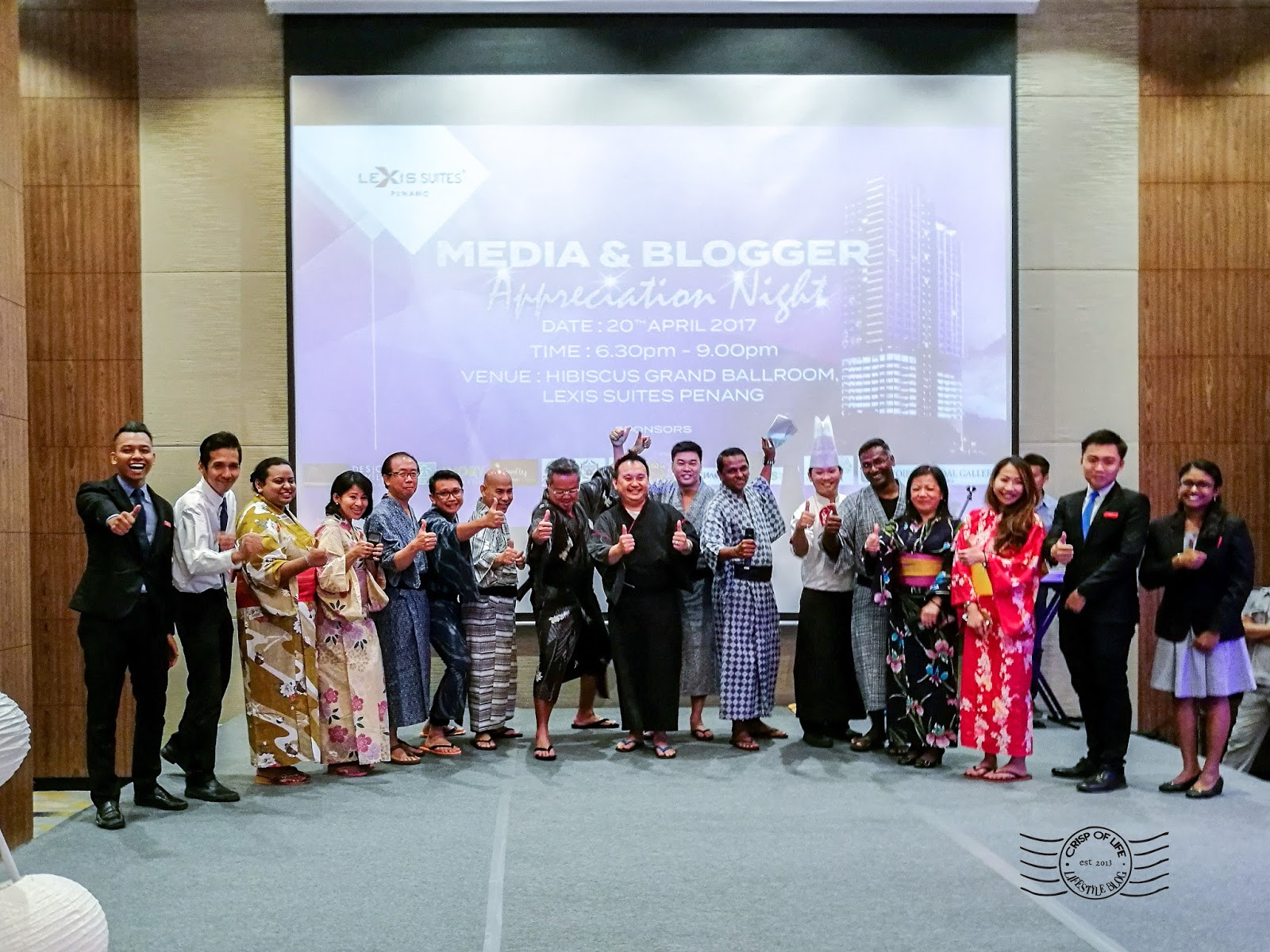 Media & Blogger Appreciation Dinner by Lexis Suite Penang