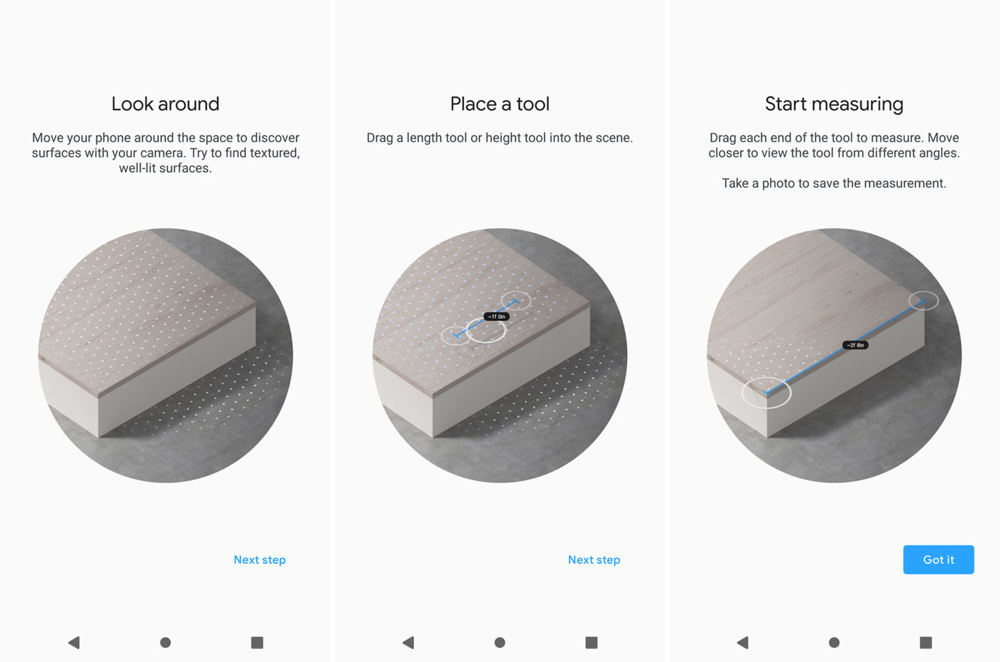 APK] Google Launched Measure App For All ARCore Devices - Kickedface
