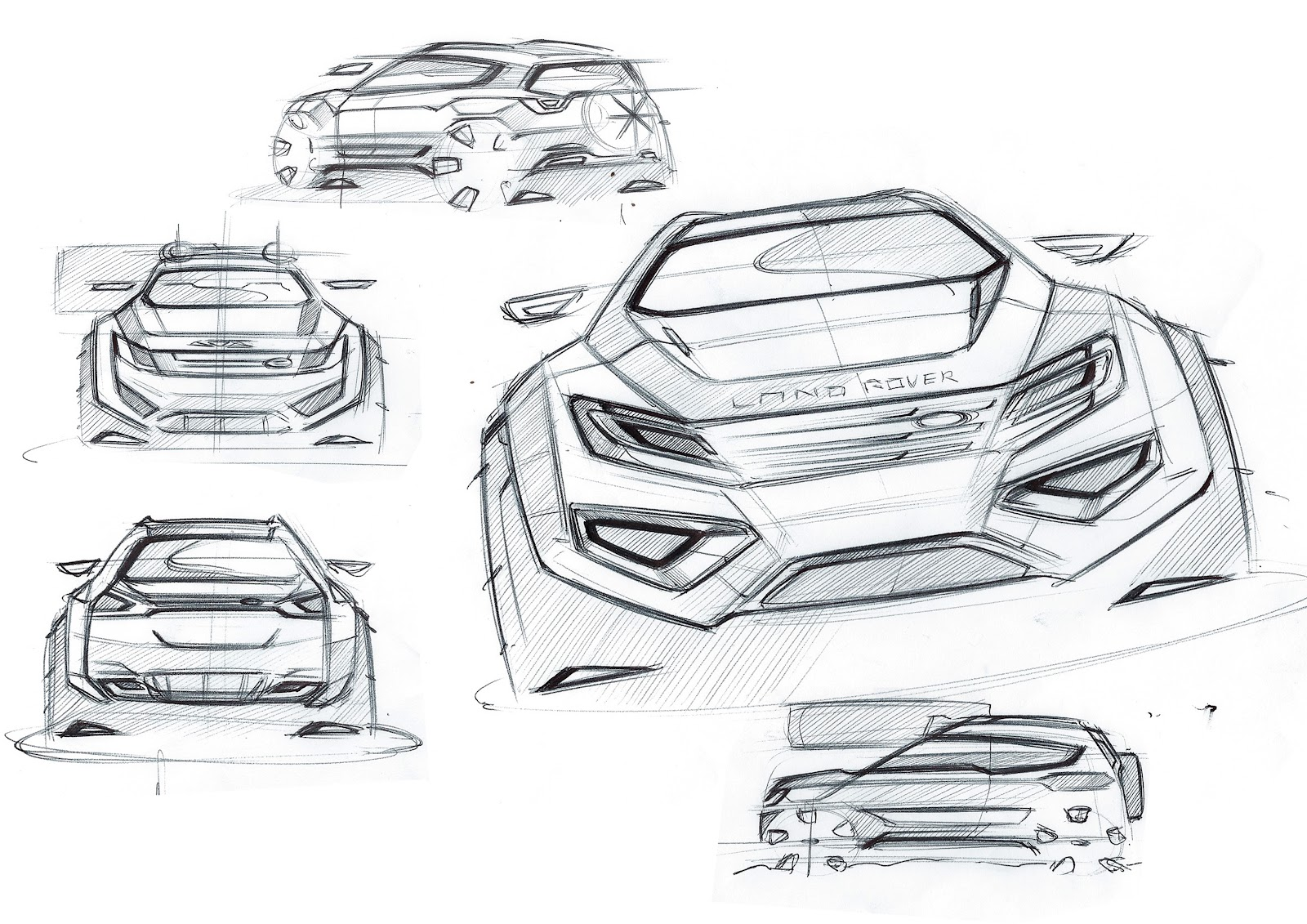 Sketchsite:Barrett: Land rover..spare time sketches