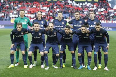 Champions League match against FC Barcelona
