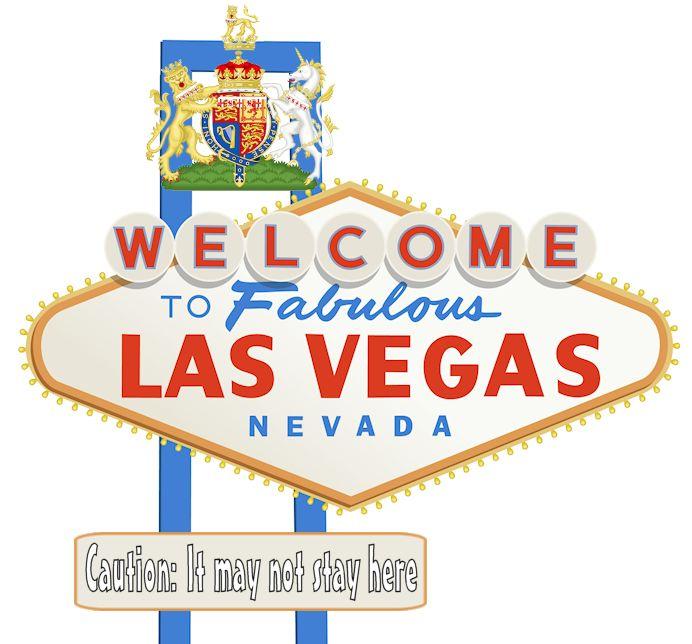 Slap The Penguin: 8 Bit News - Dirty Harry What Happens In Vegas Logo