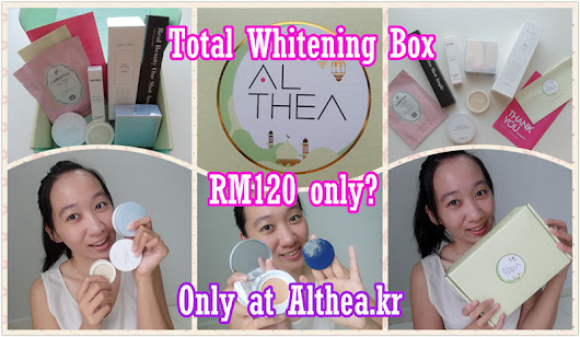 [Review] Total Whitening Box by Althea Korea