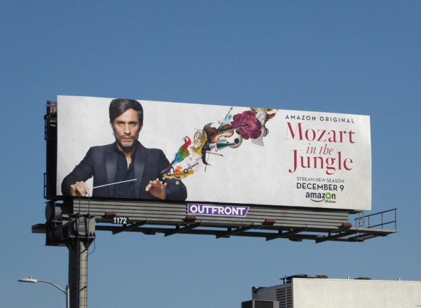 Mozart in Jungle season 3 Amazon billboard