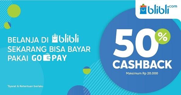 Manjakan Pelanggan Blibli.com Tambah Opsi Pembayaran dengan GO-PAY |  HARIAN9.com