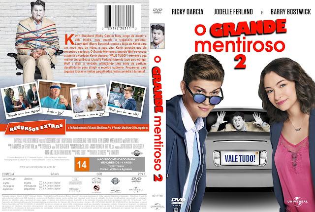Capa DVD O Grande Mentiroso 2 [Custom]