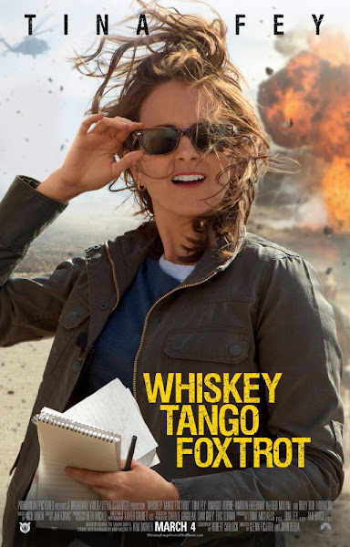 Poster Of Whiskey Tango Foxtrot 2016 720p HDRip Full Movie Download