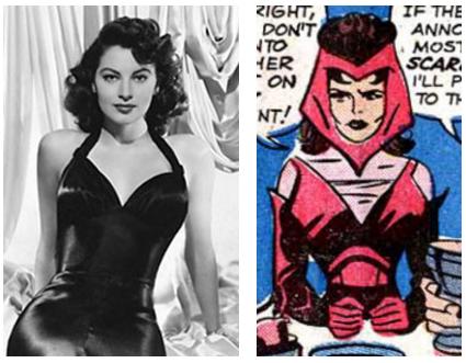 Ava Gardner Wanda Scarlet Witch