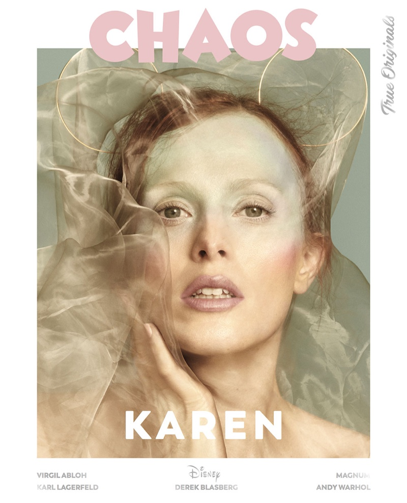 Karen Elson on Chaos Magazine True Originals 2018 Cover
