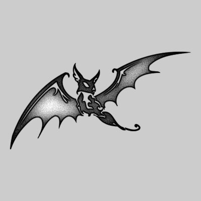 Tribal bat Tatuaggi Pinterest Bats, Dragon tattoo designs - bat template