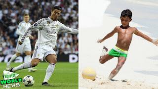 Cristiano Ronaldo Jr ● Like Father Like Son