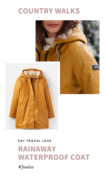 Joules Rainaway Waterproof Coat