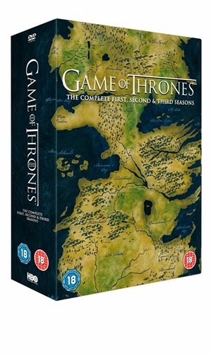 Game of Thrones - Seasons 1-3 - 15 DVD Disc Set