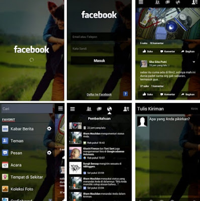 download Facebook Mod Apk Tema Black Transparent Terbaru
