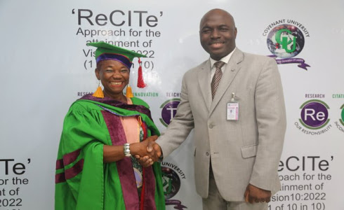 65yrs Old Woman Graduates (Masters) From Covenant University