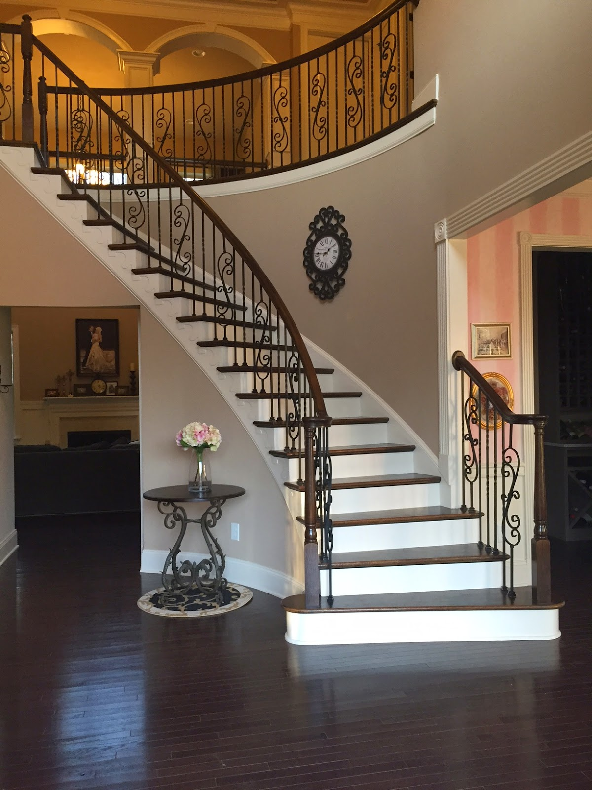 Life In The Barbie Dream House Scroll Iron Baluster