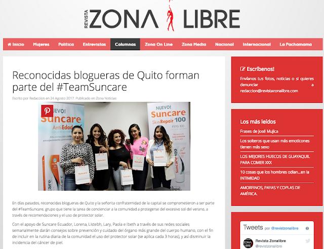 http://revistazonalibre.com/columnas/3960-reconocidas-blogueras-de-quito-forman-parte-del-teamsuncare